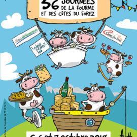 Journées de la Fourme de Montbrison et des Côtes du Forez 2018