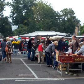 8ième marché gourmand le 28 juillet 2018 à partir de 18h00 au bourg de St Victor Montvianeix